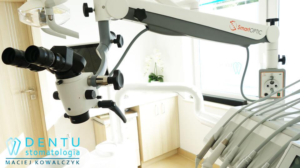 Gabinet Stomatologiczny Tczew, leczenie kanałowe mikroskopowe.