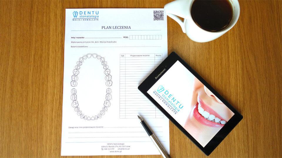 dentu stomatologia, plan leczenia, dentysta tczew